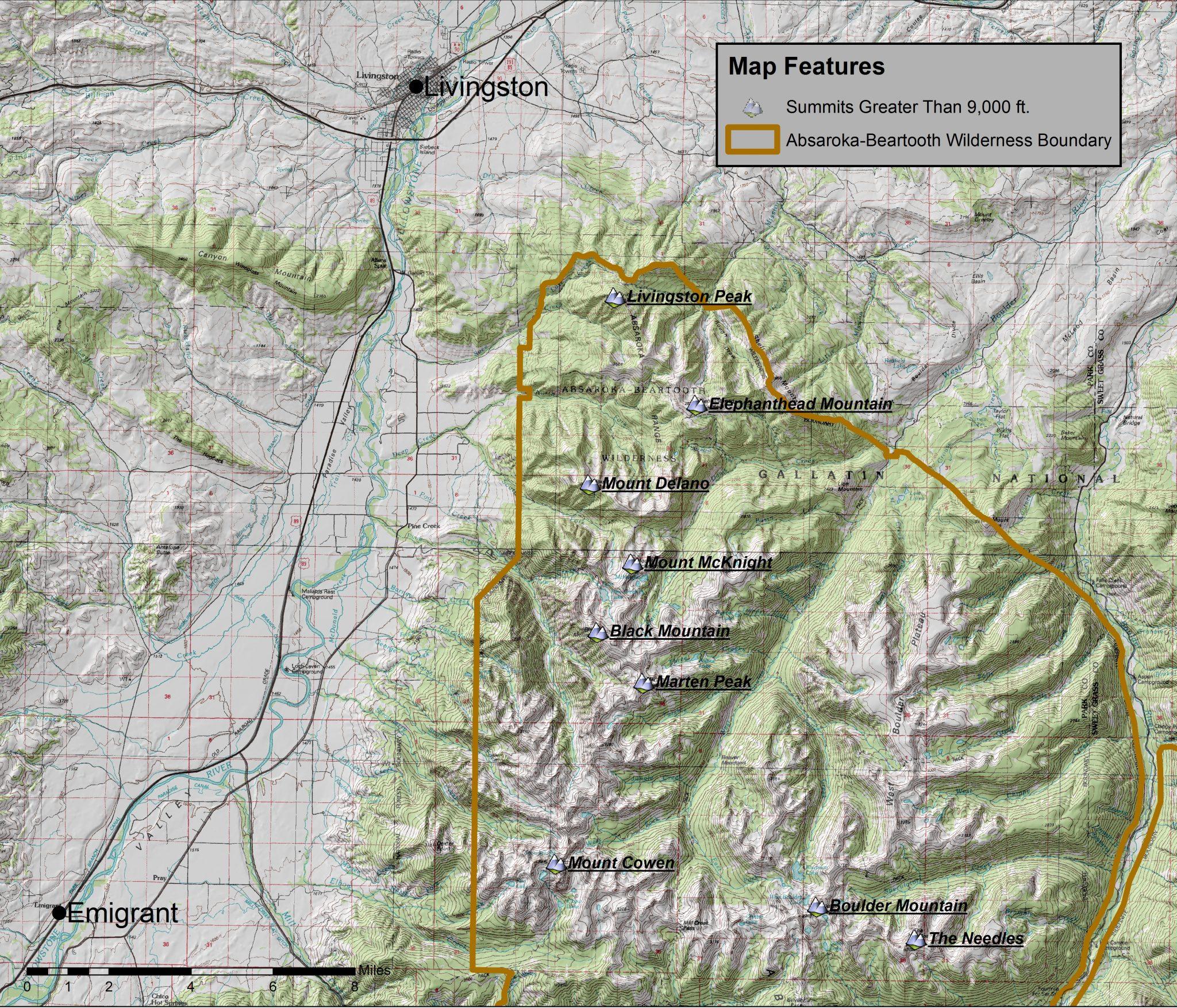 The Edge of Wilderness - Atlas of the Absaroka-Beartooth ...
